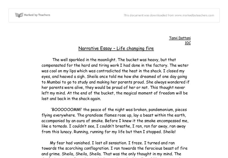 + Interesting Narrative Essay Topics & Ideas ()