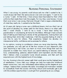 10 Personal Statement Essay Examples That Worked